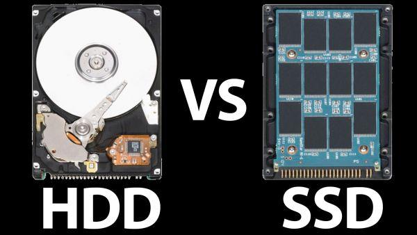 Disco duro SSD o HDD